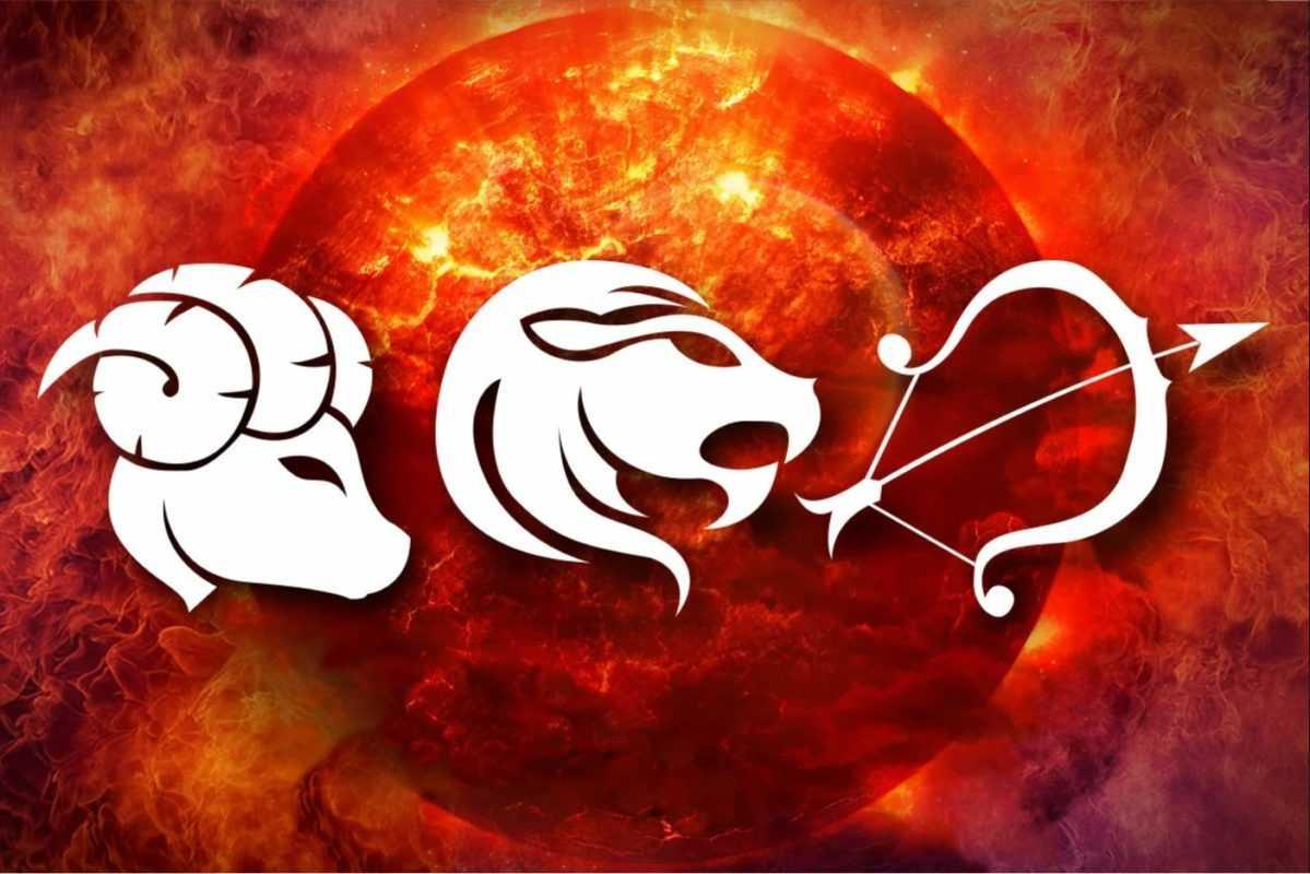 Огненные знаки Зодиака